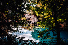 Blautop (Tim RT) Tags: tim rt reutlingen baden württemberg south germany ulm deutschland landscape blue pot blautopf topf nature beautiful travel haouse mirror reflection water lake viesual inspired hyperbeast wood outdoor clouds fuji fujifilm xt xt2 xf1024mm