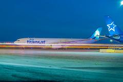 Transat 30 years (Ychocky) Tags: 50mmf18 airtransat airtransat30years airbusa330342 cgkts cyow nikkor ottawamacdonaldcartier yow