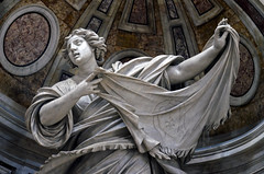 Veronica (pgpphotographer) Tags: stveronica sanpietro saintpeter statue christian iconography rome vaticancity nikon digital d5100