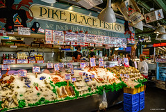 Pike Place Market, Seattle (SonjaPetersonPh♡tography) Tags: pikeplacefishco seattle washington washingtonstate stateofwashington nikond5200 2017 pikeplacemarket food fish market pikeplace businesses waterfront elliottbay publicfarmersmarket pikeplaceneighbourhood vibrant fishmarket