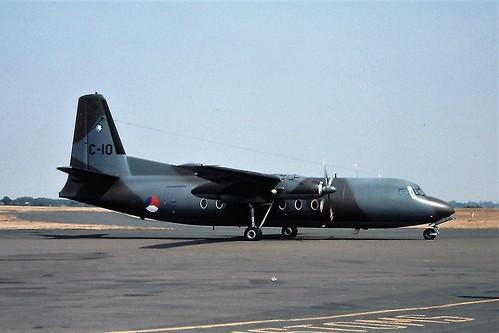 C10 F27 dutch air force Coventry 16-08-76