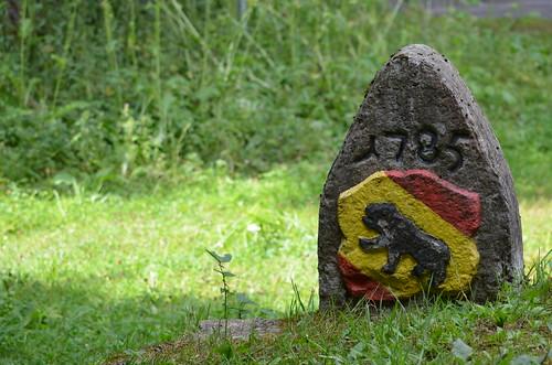 Wilerhorn - Grenzstein 1785 BE