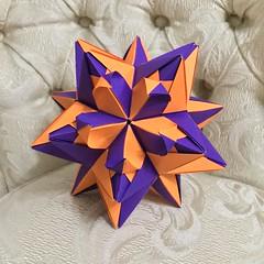 Kusudama  60° Origami Star (zeres_m@hotmail.com) Tags: kusudama origami star 60°