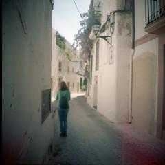 Ibiza 55.6 (motagirl2) Tags: ibiza eivissa balearicislands spain sea mediterranean mediterraneansea lomography filmphotography analogphotography filmisnotdead ishootfilm istillshootfilm buyfilmnotmegapixels kodak kodakportra portra mediumformat 120mm wideangle superwideangle