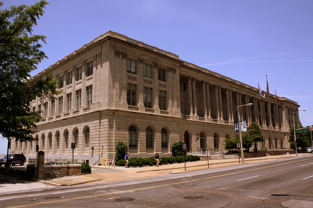 United States Custom House, Court House and Post Office - Memphis