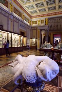 In the Hermitage Museum of Saint Petersburg, Russia