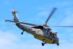Trident 13 (calzer) Tags: knighthawk rotors sikorsky helicopter bush george uss warrior saxon lossiemouth mh60s trident usn navy chopper