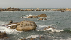 17 09 06 Plage du Frouden (41) (pghcork) Tags: plagedufrouden plage plouescat finistere brittany bretagne frouden france sea beach coast stone rocks