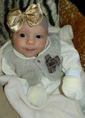 50/365 (Mááh :)) Tags: laço tiara 365days 365dias 365 baby bebê criança olhar colete paraíso