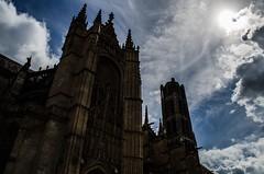 Cathédrale de Limoges (paulgarciaphoto) Tags: limoges france french sun cloud shadow ombre soleil lumière new nuage cathedral cathedrale stetienne paulgarciaphoto sky monument light