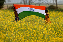 70 Years of Independence - Tryst with Development (pallab seth) Tags: जयहिंद india nation tricolour nationalflag bengal independenceday 2017 girl boy celebration indian happy child children kid kids india70