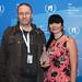 """Dušan Kastelic, prejemnik nagrade Vesna za najboljši animirani film CELICA in Mateja Starič, avtorica glasbe. • <a style=""""font-size:0.8em;"""" href=""""http://www.flickr.com/photos/151251060@N05/36460687764/"""" target=""""_blank"""">View on Flickr</a>"""
