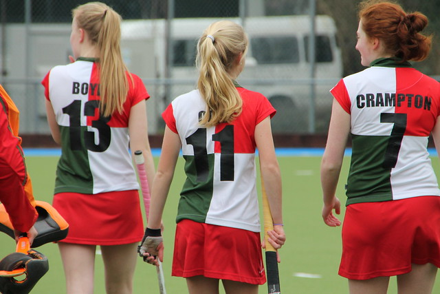 Girls' hockey final 2016/7