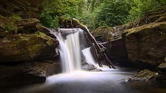 Edinample Falls (ShinyPhotoScotland) Tags: affection art awe beautiful blur calm circularpolariser colour composite contentment contrasts darktable dcraw diagonal digikam digitalgradnd digitallowpass digitalred dramatic dulllight dynamic edinample edinamplefalls elegance emotion enfuse filter geology hdr idyll intimatelandscape landscape landwater lens light lines longexposure manipulated moody motion motionblur motionstationary movement nature pastelshades pentax28105mm pentaxk1 photography places psammite pure raw rawconversion rockstone rockwater satoripunctum saturated scotland semipelite serifaffinityphotoipad shapeandform shapely slowfast stirling striking timefulness toned tranquil turbulence variablend water waterfall zen