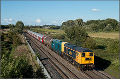 7X09 Continues (Resilient741) Tags: class 20 br british rail ee english electric type one 1 double headed header s stock lul london underground west ruislip main line freight train gbrf great britain diesel loco locos trains locomotive 7x09 tube