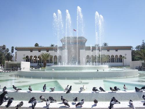 La place Mohammed V