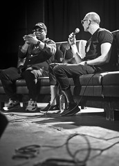IMG_9813 (Brother Christopher) Tags: blackandwhite monochrome monochromatic explore explored live show liveshow podcast audio audiodocumentary npr gimeltmedia loudspeakersnetwork combatjack reggieosse chrislighty brotherchris hiphop hiphopculture mogul cultre event events talk discussion panel interview