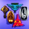 Alien Stands (WEBmikey) Tags: toys startrek playmates klingon romulan borg