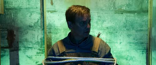 "Greg Blumhagen in ""Raid"""