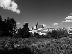 Mon point de vue !!! (François Tomasi) Tags: ciel sky blackandwhite noiretblanc village patrimoine indreetloire touraine montrésor lights light lumière pointdevue pointofview pov yahoo google flickr françoistomasi france europe nikon reflex clouds cloud nuages nuage tourisme travel architecture numérique digital photo photography photographie photoshop nature campagne trees tree arbres arbre végétation pierre ancien old vintage septembre 2017
