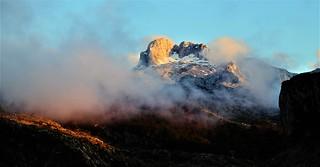 Ocaso en los Lagos de Covadonga