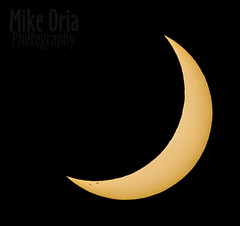 Solar Eclipse (mikeSF_) Tags: sun solar helios eclipse astrophotography astro gps sky night day moon crater profile 75 solareclipse nasa telescope pentax k3ii dfa150450 450mm sunspot mikeoriaphotography