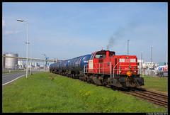 DB Cargo 6430, Pernis 31-03-2017 (Henk Zwoferink) Tags: vondelingenplaat zuidholland nederland nl cargo pernis henk zwoferink haven rotterdam 6430 mak db deutsche bahn