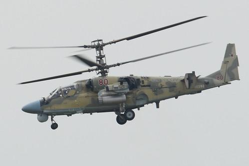 Kamov Ka-52 'RF-90392 / 80 red'