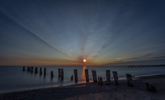 Sunrise Pt 3-7:07am (hey its k) Tags: fiftypointconservationarea sunrise img0923 canon6d longexposure lakeontario grimsby ndfilter