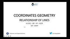 A LEVEL - IBP - RELATIONSHIP BETWEENS LINES - PARALLEL AND PERPENDICULAR LINES (Happymath _ Math Teacher) Tags: alevel alevelsubject algebra aslevel aa âa calculus easymaths fastmath mathematician math mathematics maths mathquiz mathsonline mathproblemsolver mathsproject mathformulas mathsquestion mathforkids mathtutoronline mathtricks mathssolution mathworksheets mathwordproblems mathtest grade khanacademy khanacademymath khan learnmath prealgebra mentalmath 3rdgrademath 7thgrademath trigcalculator internationalschool triggraphs googlemath onlinemath discretemathematics geometricshapes geometryformulas trigonometryformulas