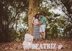 Beatriz (Mááh :)) Tags: beatriz ensaio casal amor love 33semanas grávida gestante pregnant folhassecas árvores urso listras