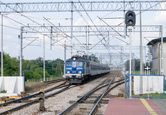 EU07-305 Nowy Dwór Mazowiecki (rokiczaaa) Tags: eu07 pkpintercity pkp train zug polska poland