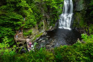 Bushkill Waterfall