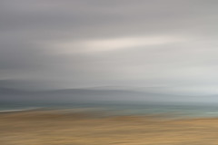 View from Barna Beach (annemcgr) Tags: spiddal july 2017 barna galway waves mountains clouds me multipleexposure icm intentionalcameramovement fineartphotography annemcgrath