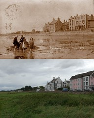 Parkgate, 1900s and 2017 (Keithjones84) Tags: birkenhead wallasey merseyside wirral thenandnow rephotography newbrighton