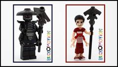 Ninjago Garmadon dollified (brickomotion) Tags: ninjago bom brickomotion custom minidoll doll dollify dollified lego movie villain