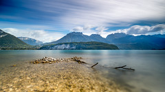 Shooting in the water (flo73400) Tags: landscape lacdannecy stjorioz france french mountain water le longexposure poselongue color blue lake