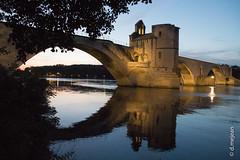 un soir en Avignon (dcrm.photographie) Tags: pont avignon davignon reflet reflets