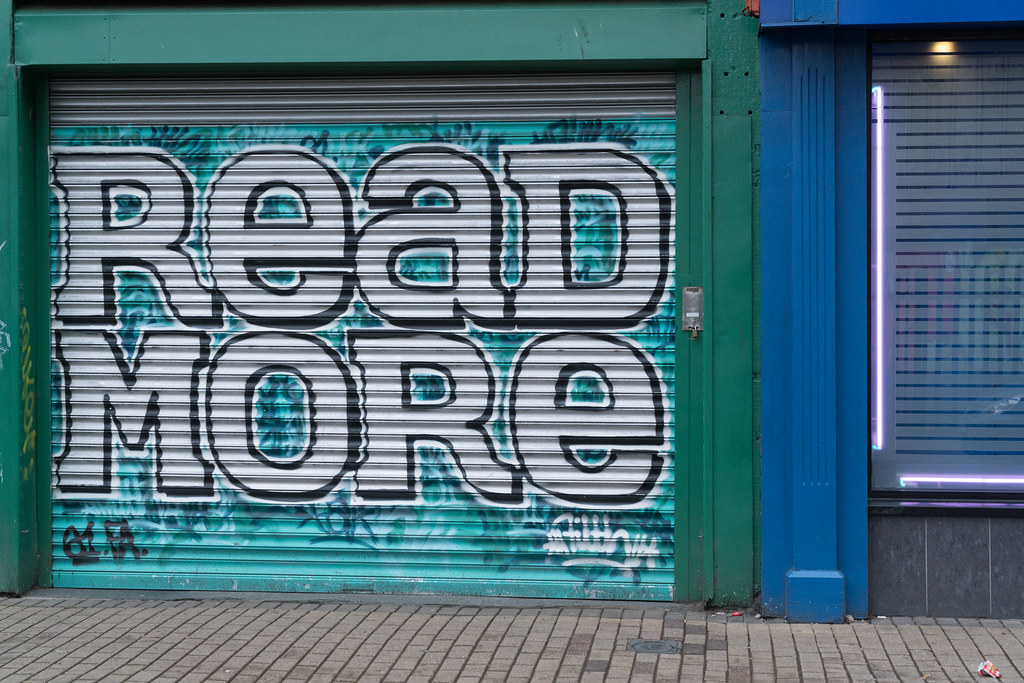 EXAMPLES OF URBAN CULTURE IN BELFAST [STREET ART AND GRAFFITI]-132942