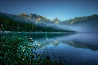 Silence at the lake