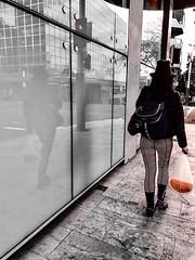 Watermelon swing (doubleshotblog) Tags: streetcandid streetphotography urban people doubleshotblog doubleshot blackandwhite hintofred carmine ladyinred streethunt inmovement motion oneshot iphonephotography iphoneography iphone7 secretphotography candidphotography candid australia sydney northsydney walkerstreet walking walk swing watermelon