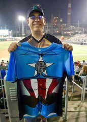 Star Wars Night with the Bridgeport Bluefish (9/16/2017) (nomad7674) Tags: 2017 20170916 september bridgeport bluefish minor league baseball milb ct bridgeportct bpt star wars starwars characters scifi science fiction sciencefiction mark chesner me self nomad7674 nomad