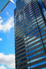 Reflections #3 (Yorkey&Rin) Tags: 2017 bluesky building em5markii fineday japan lumixg20f17 olympus reflection rin september shinagawa tokyo ua020020 ビルディング 映り込み 晴れの日 東京都 品川