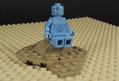 Doctor Manhattan (MrKjito) Tags: lego minifig super hero comic comics doctor manhattan watchman dc rebirth doomsday clock mars