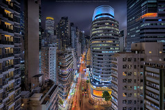 Wan Chai, Hong Kong (mikemikecat) Tags: hongkong nightscapes estates a7r nostalgia house mikemikecat architecture sony stacked building colorful housing pattern 屋邨 抽象 建築 建築物 城市 天際線 戶外 block hong kong cityscapes street nightview night 夜景 香港 路 evening 建築大樓 twilight vintage rooftop carlzeiss nightscape 建築結構 基礎建設 sel1635z fe1635mm wanchai 灣仔 skyscraper 塔 skyhigh hdr