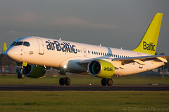 Bombardier CSeries CS300 airBaltic YL-CSD cn 55006 (Guillaume Besnard Aviation Photography) Tags: eham ams amsterdam schipholairport amsterdamschiphol planespotting polderbaan amsterdamschipholairport canoneos canonef500f4lisusm canoneos1dsmarkiii bombardiercseriescs300 airbaltic ylcsd cn55006 bombardiercseries cseriescs300