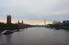 The Thames at sunrise (Dun.can) Tags: river thames sunrise dawn morning housesofparliament parliament londoneye westminsterbridge westminster london sky lambethbridge boats