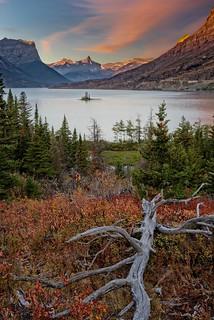 St Mary Lake, Glacier NP