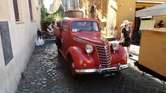 Rome - Trastevere - May 2015 - Fiat Legno Furgone  - Front