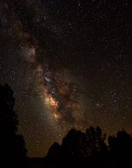 Milky Way II (Thru Mikes Viewfinder) Tags: stars night sky milkyway olympus em12 dark universe galaxy constellations